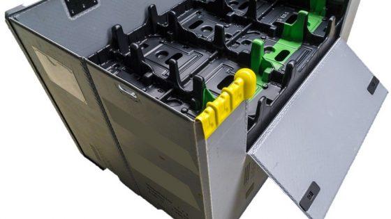 Faltbox-Kantenschutz